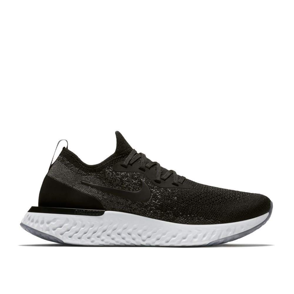 the best attitude 1ad44 27fcf Galleon - Nike Women s WMNS Epic React Flyknit, Black Dark Grey, 6 M US
