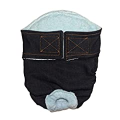 Perfectly hand-crafted diapers for female dogs with incontinence issues, excitable urination and female dogs in heat. Each diaper is thoughtfully designed with multiple layers of protection, giving you peace of mind and your pet comfort durin...