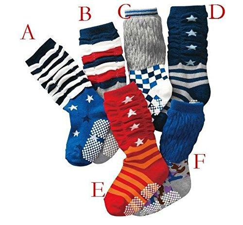 Newcreativetop Children 6-pair Star Theme Loose Socks High Socks for Little Boys