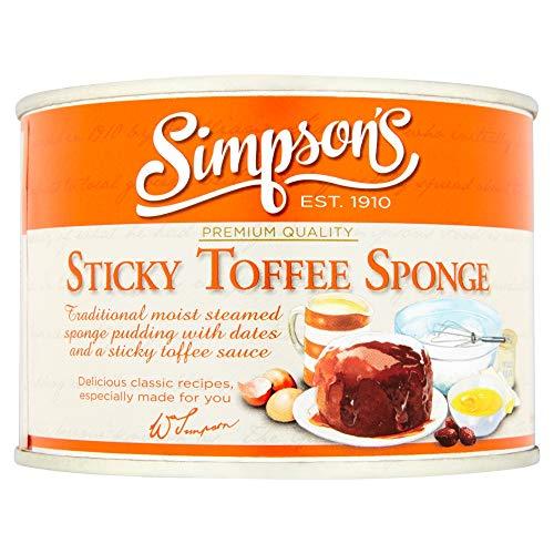 - Simpson's Sticky Toffee Sponge, Sticky Toffee, 10.5 Ounce