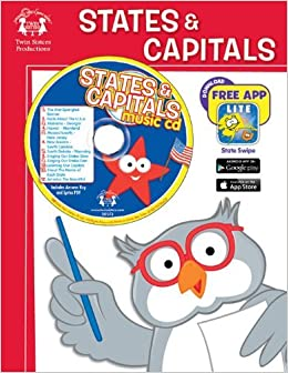 States & Capitals (Workbook and Music CD) by Kim Mitzo Thompson (2011-03-01)
