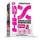 Magnum Nutraceuticals HI-5 Strawberry – 24 Servings – Amino Acids – Gain Lean Muscle – Reduce Fatigue – Improve Recovery