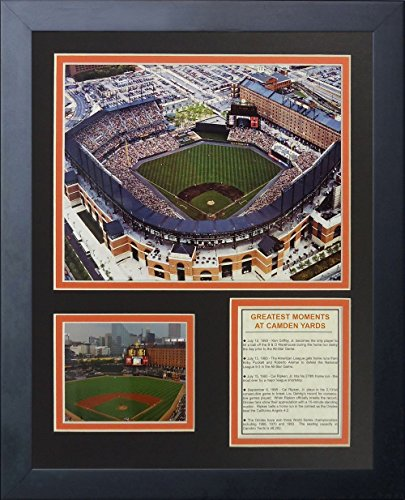 Baltimore Orioles Camden Yards - Legends Never Die Baltimore Orioles Camden Yards Framed Photo Collage, 11 by 14-Inch