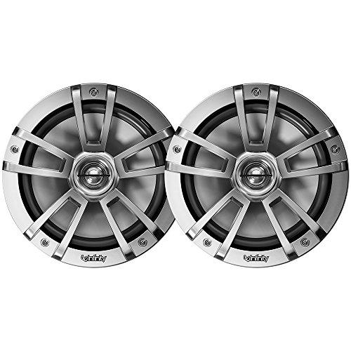 - Infinity 822MLT Marine 8 Inch RGB LED Coaxial Speakers - Titanium