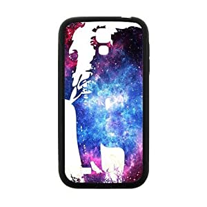 Abstract elephant and skull Cell Phone Case for Samsung Galaxy S4