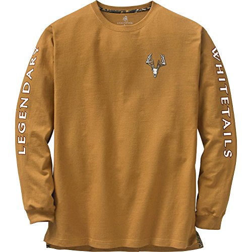 Legendary Whitetails Men's Non-Typical Series Long Sleeve Tee Barley Large