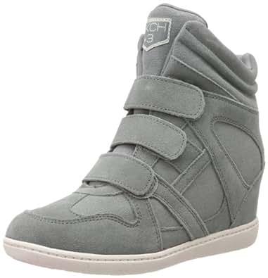 Skechers Women's Plus 3-Raise The Bar Fashion Sneaker,Gray,5 M US