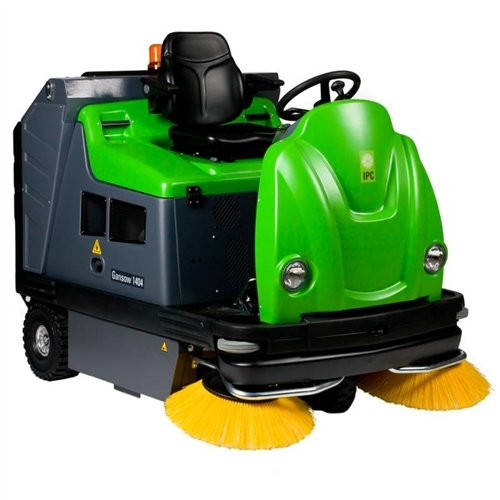 "IPC Eagle TK1404 58"" Genius Dual Powered Rider Sweeper, Gas Powered"