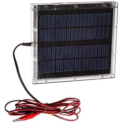 Universal Power Group UPG (87511) Silver 12V Solar Panel: Automotive