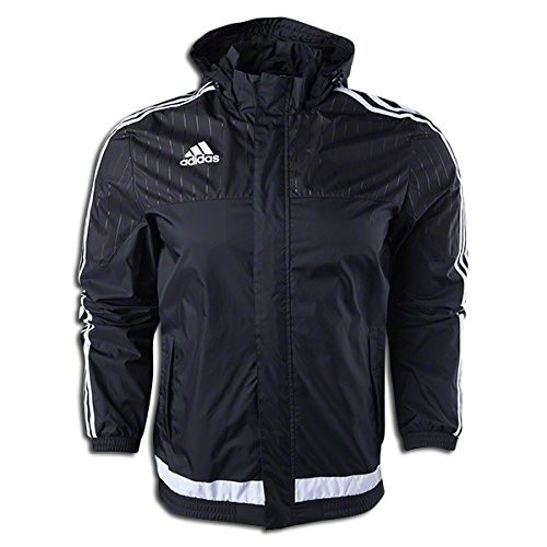 adidas Tiro 15 Rain Jacket Black XXL (Adidas Tiro Training Jacket)