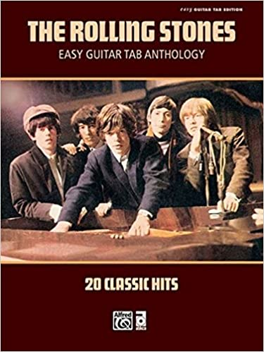 Amazon The Rolling Stones Easy Guitar TAB Anthology 20 Classic Hits 9780739060629 Books