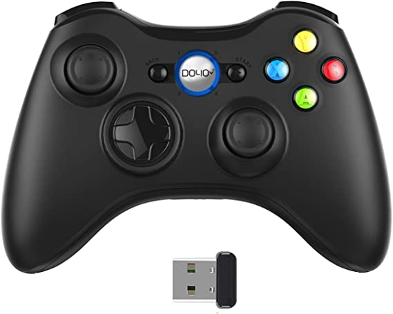 Wireless PC Game Controller Bluetooth Steam Controller Compliance with Computer/Laptop (Windows XP/7/8/10) / PS3 / Mobile Phone/Video Games Gamepad