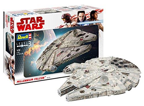 Falcon Millennium Model - Revell 06718 Star Wars Han Solo Millennium Falcon, Multi Colour, 1:72 Scale