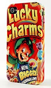 taoyix diy Frosted Lucky Charms Cereal Box Dimensional Case Fits iPhone 5c