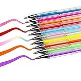 Best Coloring Pens For Adults - Soucolor 36 Colors Gel Pens Set, Coloring Pens Review