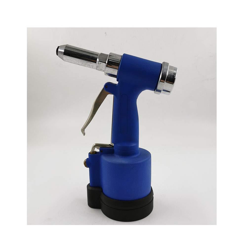 Vertical Rivet Gun, Decoration Nail Gun Pneumatic Tool Industrial Grade Hand Tool (Color : Blue) by XIAOL-Pneumatic Tool
