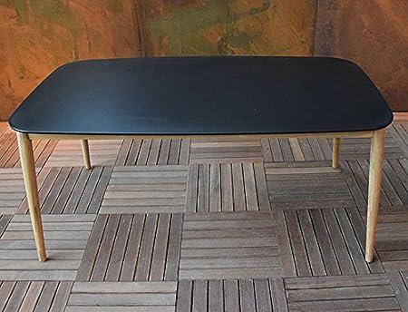 Amazon.de: Gecko Jardin Tisch Teak und duranite® Schwarz 213 ...