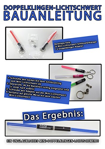 RED Mini Light Saber Keyring Party Star Wars Clubs Light Sticks LED dance Jedi Sith Lord parties V. Cool RED, GREEN Or PINK (RED) (Blue Light Sabre)