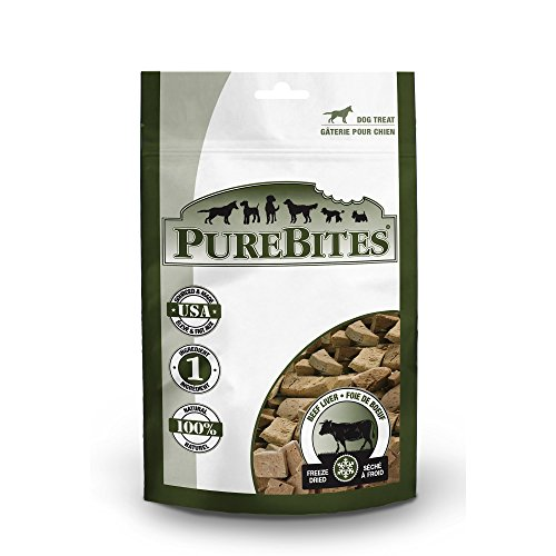 51KbZ48CFbL - PureBites Beef Liver Freeze-Dried Treats for Dogs
