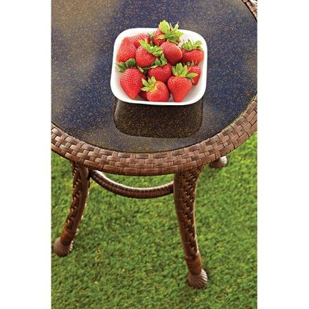 Better Homes And Gardens Azalea Ridge 20 Round Outdoor Side Table Green Ankles Gardening