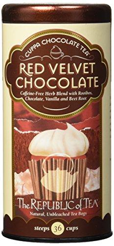 The Republic of Tea, Red Velvet Cuppa Chocolate Tea Bags