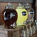 Shindigz Country Chic Glass Beverage Dispenser