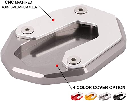 Motorcycle Side Kickstand Extension Plate Motorcycle Side Kickstand Protector