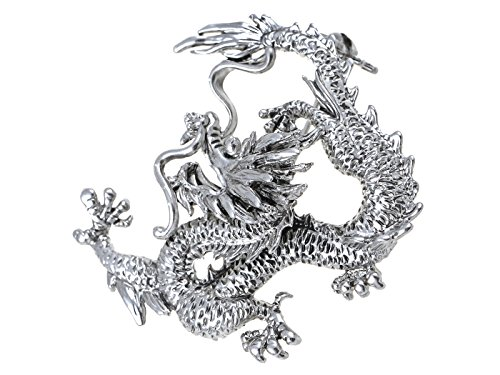 ient Asian Chinese New Year Zodiac Dragon Novelty Celebration Party Brooch Pin (Dragon Pin Brooch)