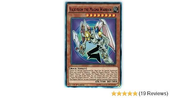 Valkyrion the Magna Warrior YGLD-ENB01 Ultra Yugi/'s Legendary Decks Unlimited