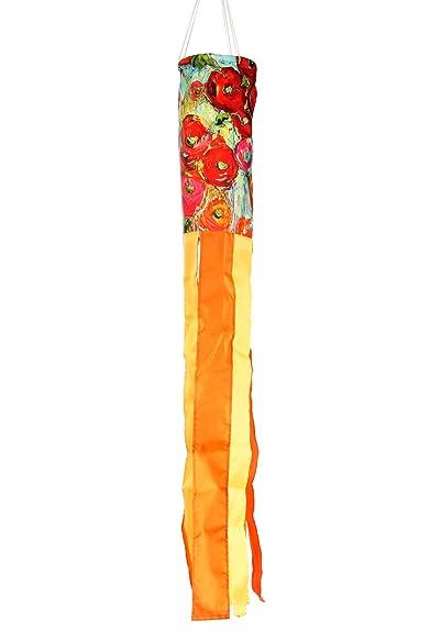 Toland Home Garden 162521 Fabulous Flowers Decorative Windsock, Multicolor