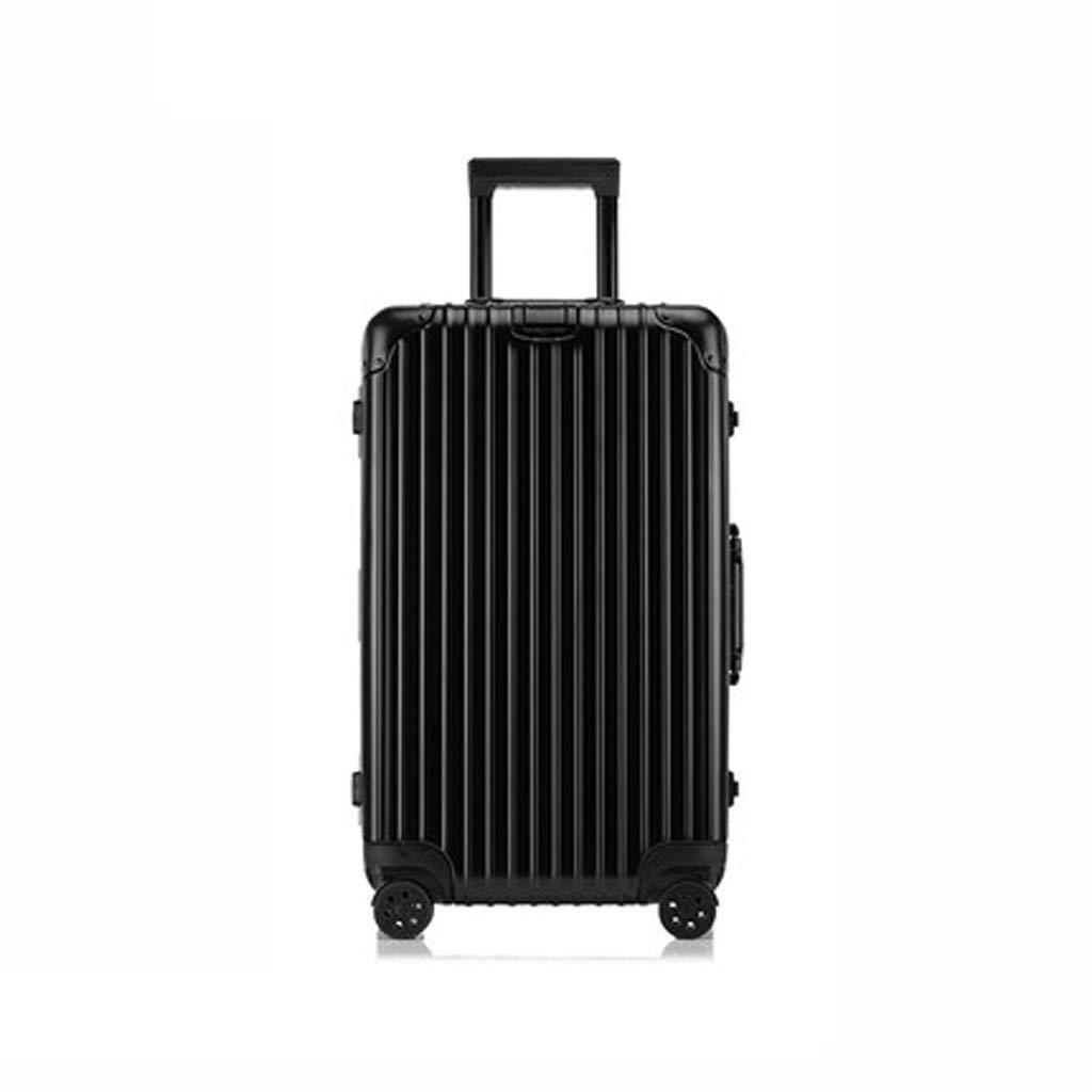 大容量厚手スーツケース海外トラベルトロリーケース26inch、28inch、30inch (色 : 黒, サイズ さいず : 30inch) B07LBK3S8Z 黒 30inch