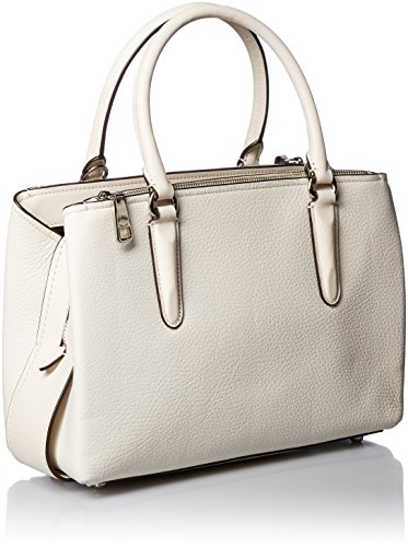 Sv Womens Carryall 28 Brooklyn COACH Pebbled Chalk 6TwzXOqO