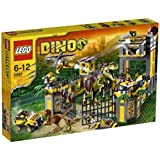 LEGO Dino - 5887 - Jeu de Construction - Le QG de Défense contre les Dinosaures
