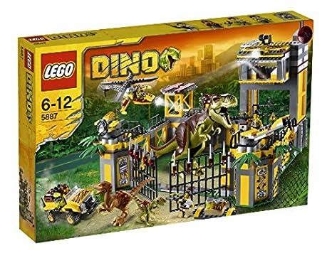 nuovo di zecca Buoni prezzi 100% genuino LEGO Dino 5887 - Quartier generale di difesa Dino: Amazon.it ...