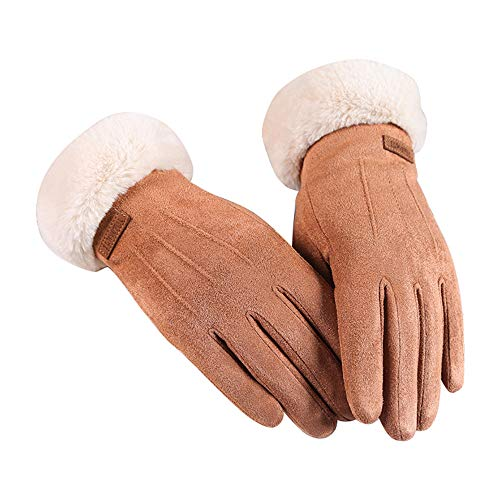 Women's Touchscreen Gloves for Autumn Winter Windproof Warm