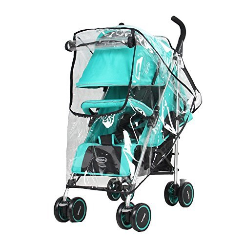 Obecome Baby Stroller Rain Cover Waterproof Umbrella Stroller Wind Dust Shield Cover for Strollers