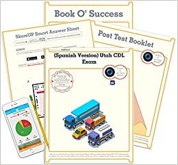 Amazon.com: (Spanish Version) Utah CDL Exam, UT Commercial ...