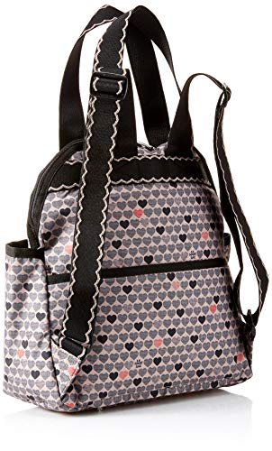 LeSportsac Classic Double Trouble Backpack, Stop for Love by LeSportsac (Image #2)