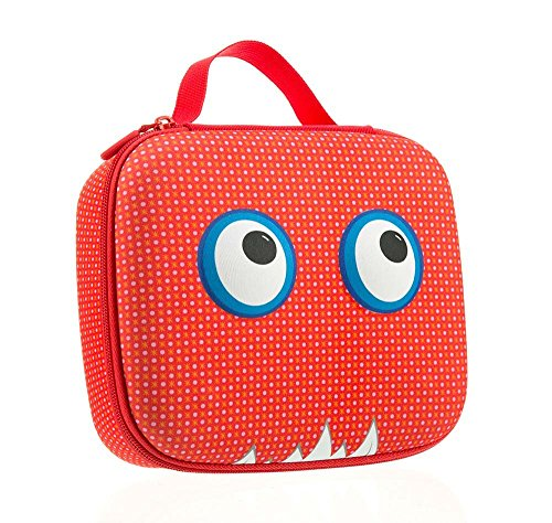 ZIPIT Beast Lunch Box, Red