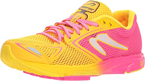 Newton Running Women's Distance 7 Pink/Yellow 11.5 B US