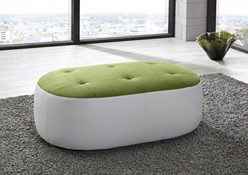 New Look Trendmanufaktur Hocker Polsterhocker Sitzhocker Sitzmöbel BALI NEU