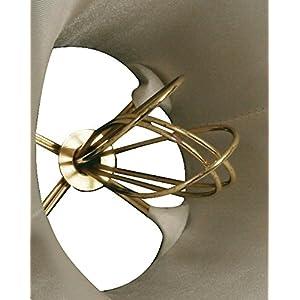 "Royal Designs (6 Pack) 5"" Beaded Bell Eggshell Chandelier Lamp Shade, 3 x 5 x 4 (DCS-308B-6)"