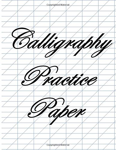 Calligraphy Practice Paper Blue Guide Lines Ebay