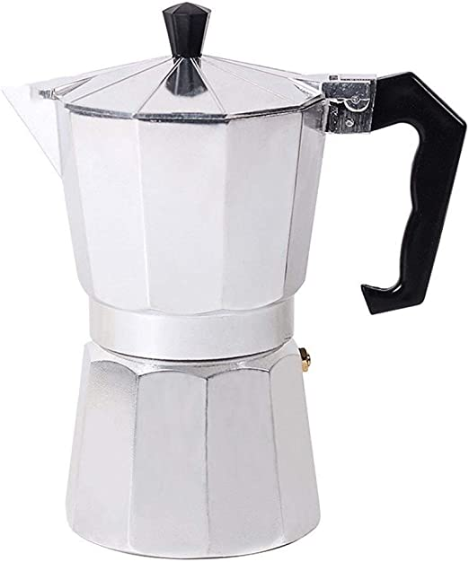 SJDY Cafetera 1/3/6/9 / 12cup Estufa Moka Cafetera Top Italiano Moka Espresso Cafetera Expresso Percolator Cafe Cafetera (Color : 9 Cup): Amazon.es: Hogar