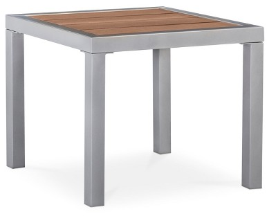 Bryant Faux Wood Patio Side Table - Threshold™ : Target