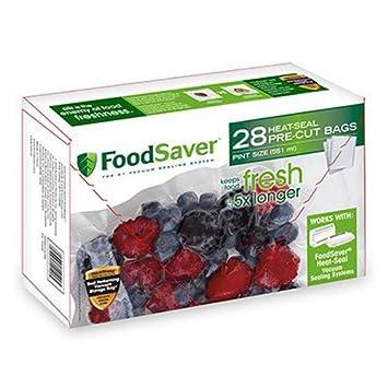 Review FoodSaver 1-Pint Precut Vacuum
