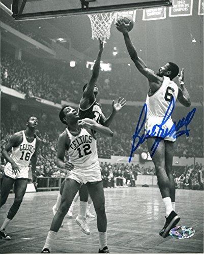 Bill Russell John Thompson McCoy McLemore Autographed / Signed 8x10 (Bill Russell Autographed Photograph)