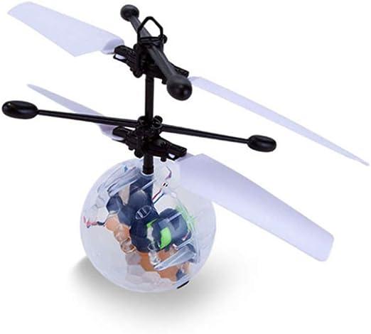 HUJUNG Juguete De Bola Voladora De Inducción, Flash De Mini Drone ...