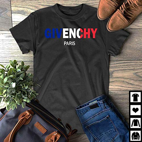 111b049847 Image Unavailable. Image not available for. Color  Givenchy Paris Flag Shirt