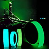 Slider 5mx15mm Luminous Tape Self-Adhesive Green Blue Glowing in The Dark Safety Stage Decor Sticker(Light Blue)